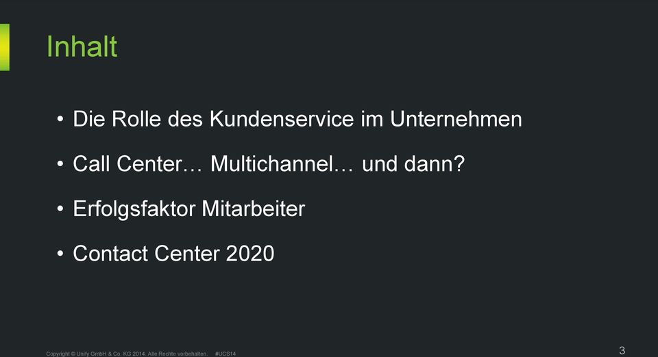 Call Center Multichannel und