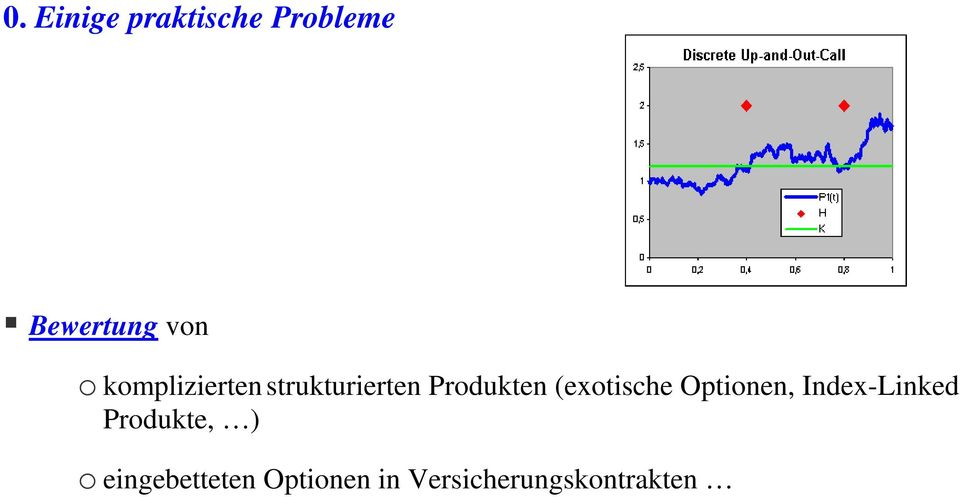 (exotische Optionen, Index-Linked Produkte, )