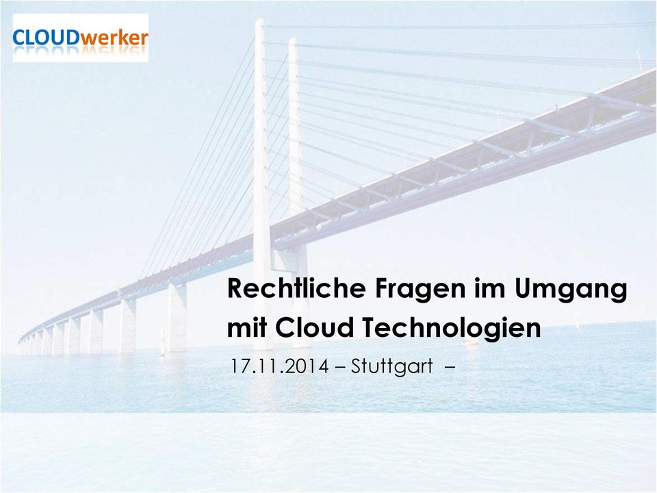 Cloud Technologien