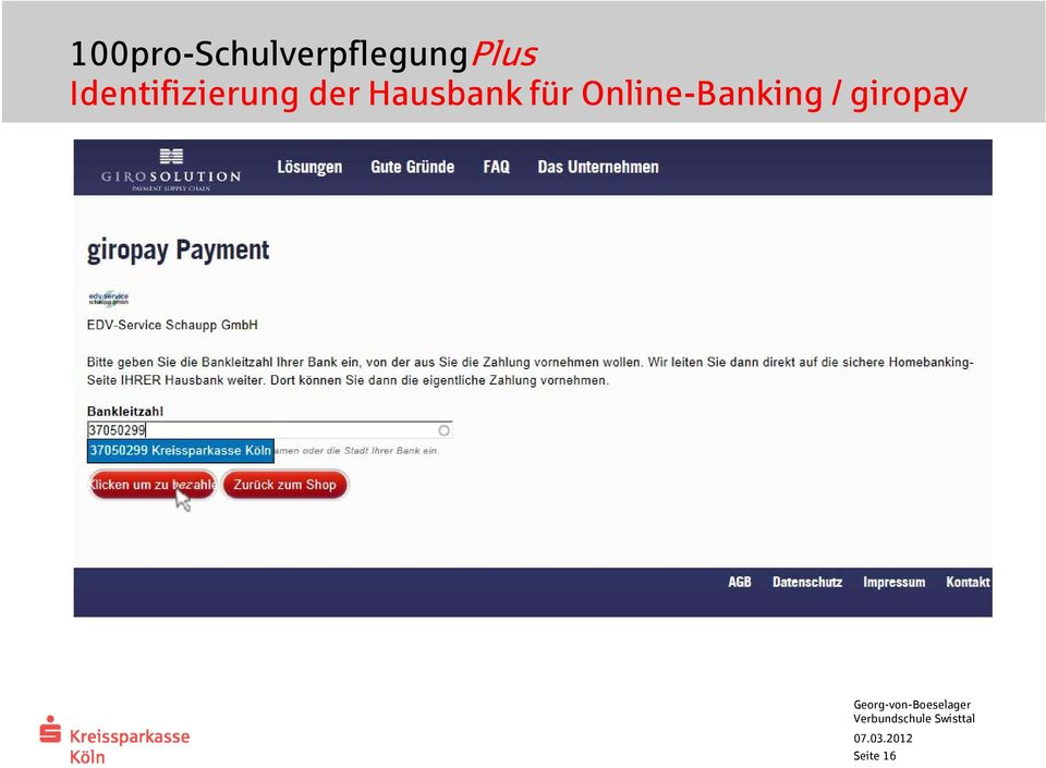 Online-Banking /