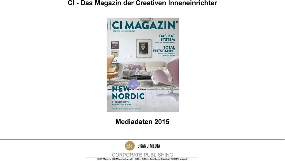 CORPORATE PUBLISHING BMW Magazin CI