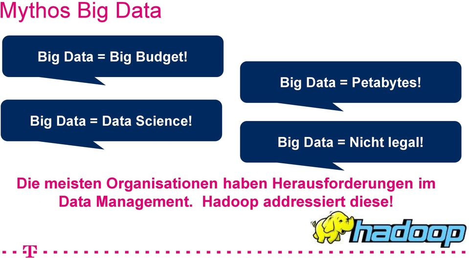 Big Data = Nicht legal!