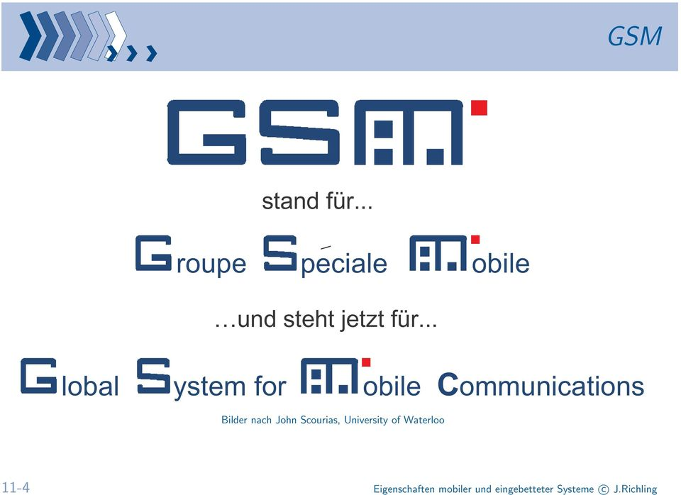 .. lobal ystem for obile Communications Bilder nach