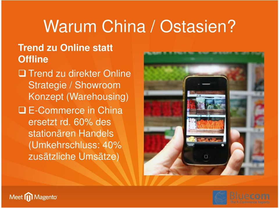 Strategie / Showroom Konzept (Warehousing) E-Commerce