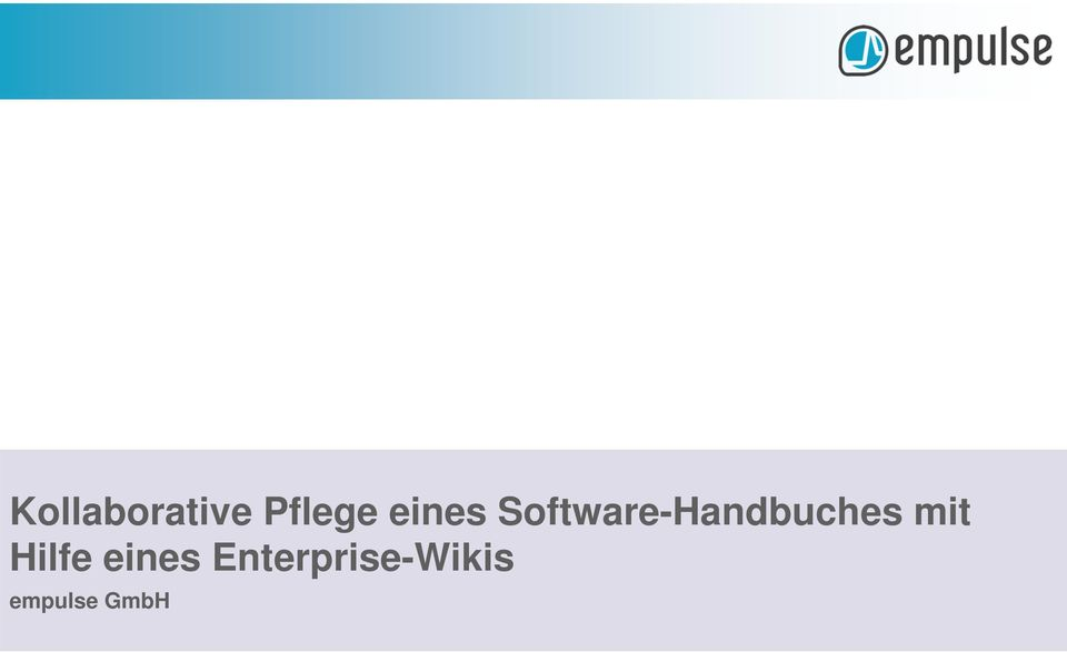 Software-Handbuches