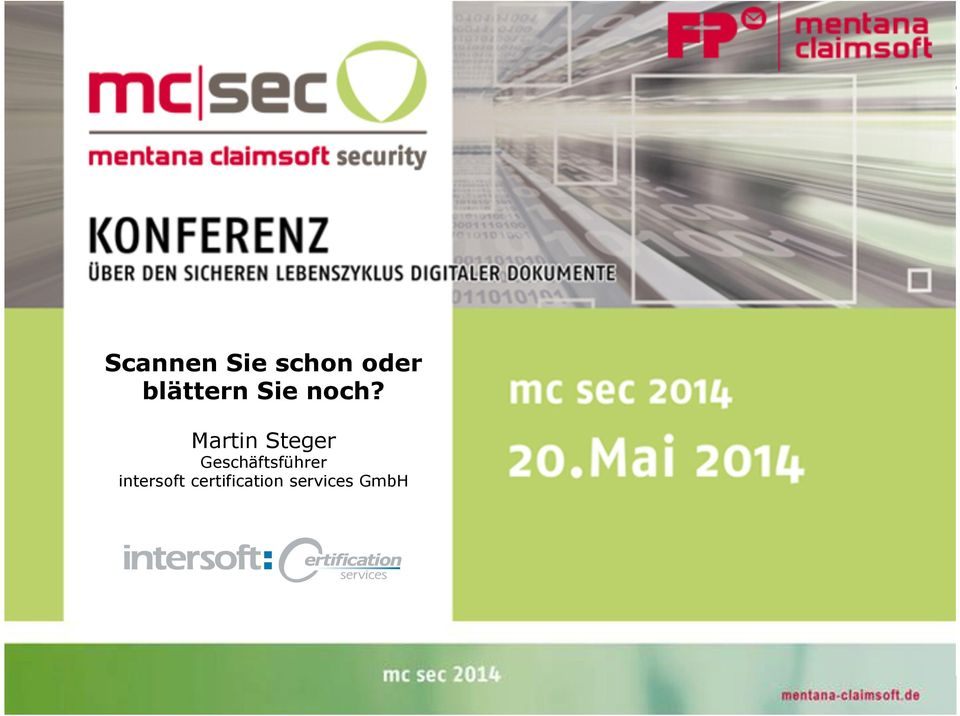 certification services GmbH intersoft mc sec
