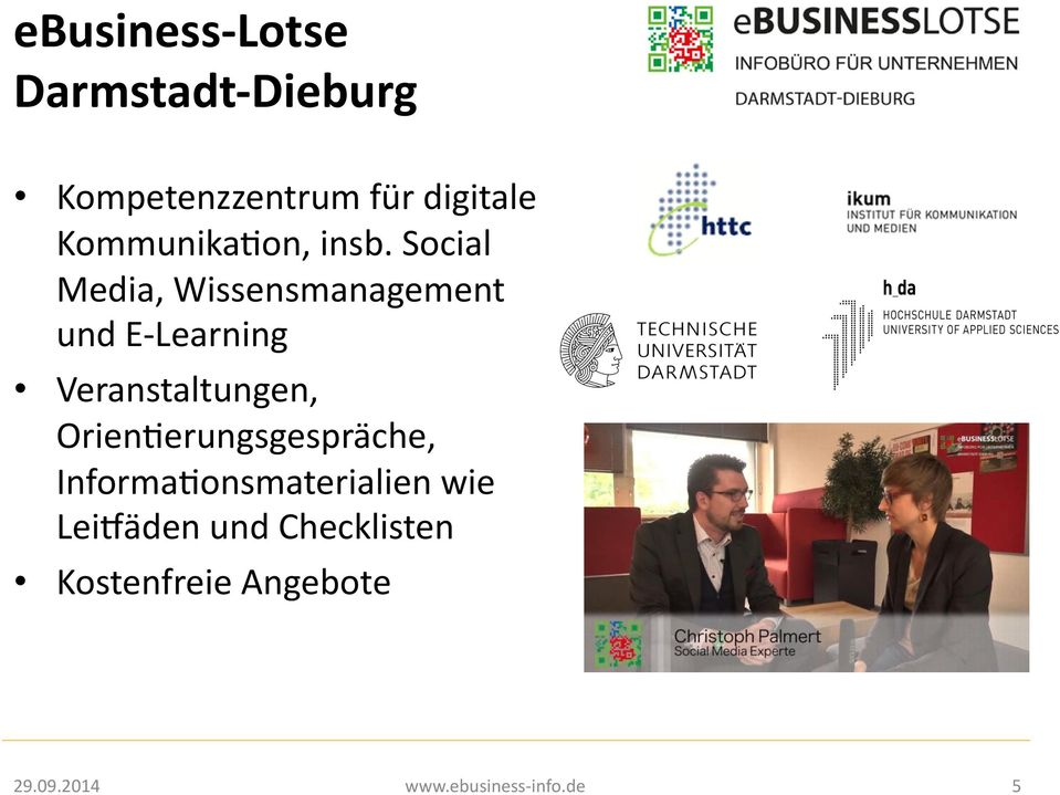 Social Media, Wissensmanagement und E- Learning