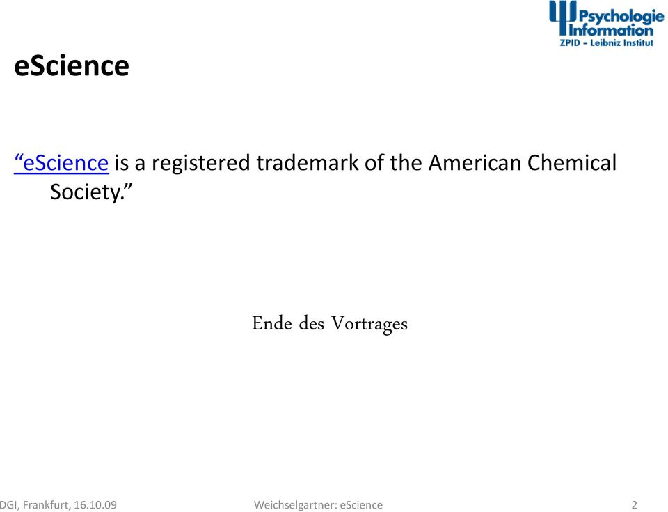 the American Chemical