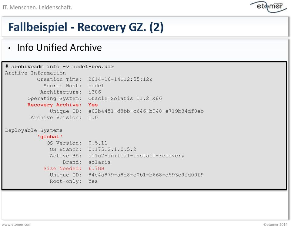 11.2 X86 Recovery Archive: Yes Unique ID: e02b4451-d8bb-c646-b948-e719b34df0eb Archive Version: 1.
