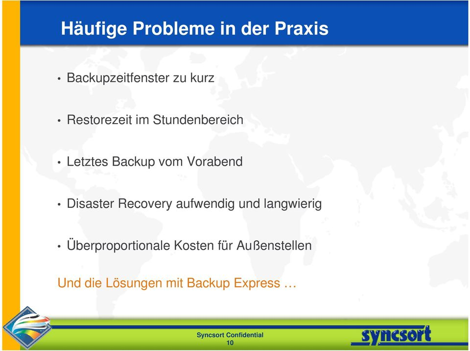 Disaster Recovery aufwendig und langwierig
