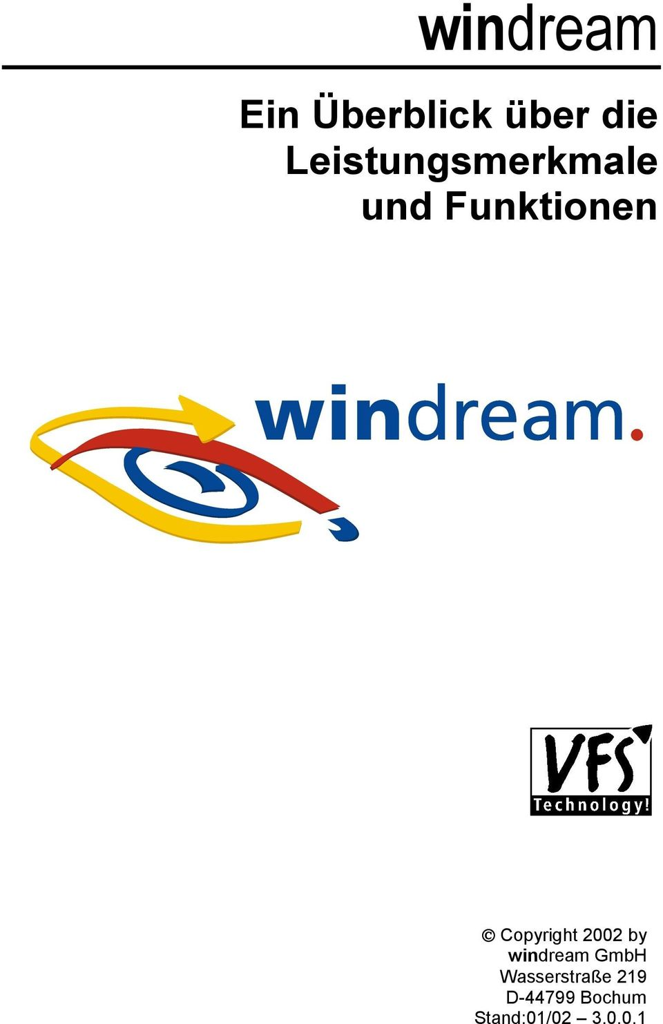 Copyright 2002 by windream GmbH