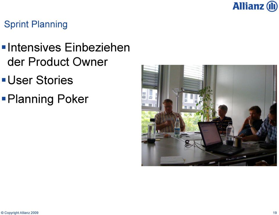 Owner User Stories Planning