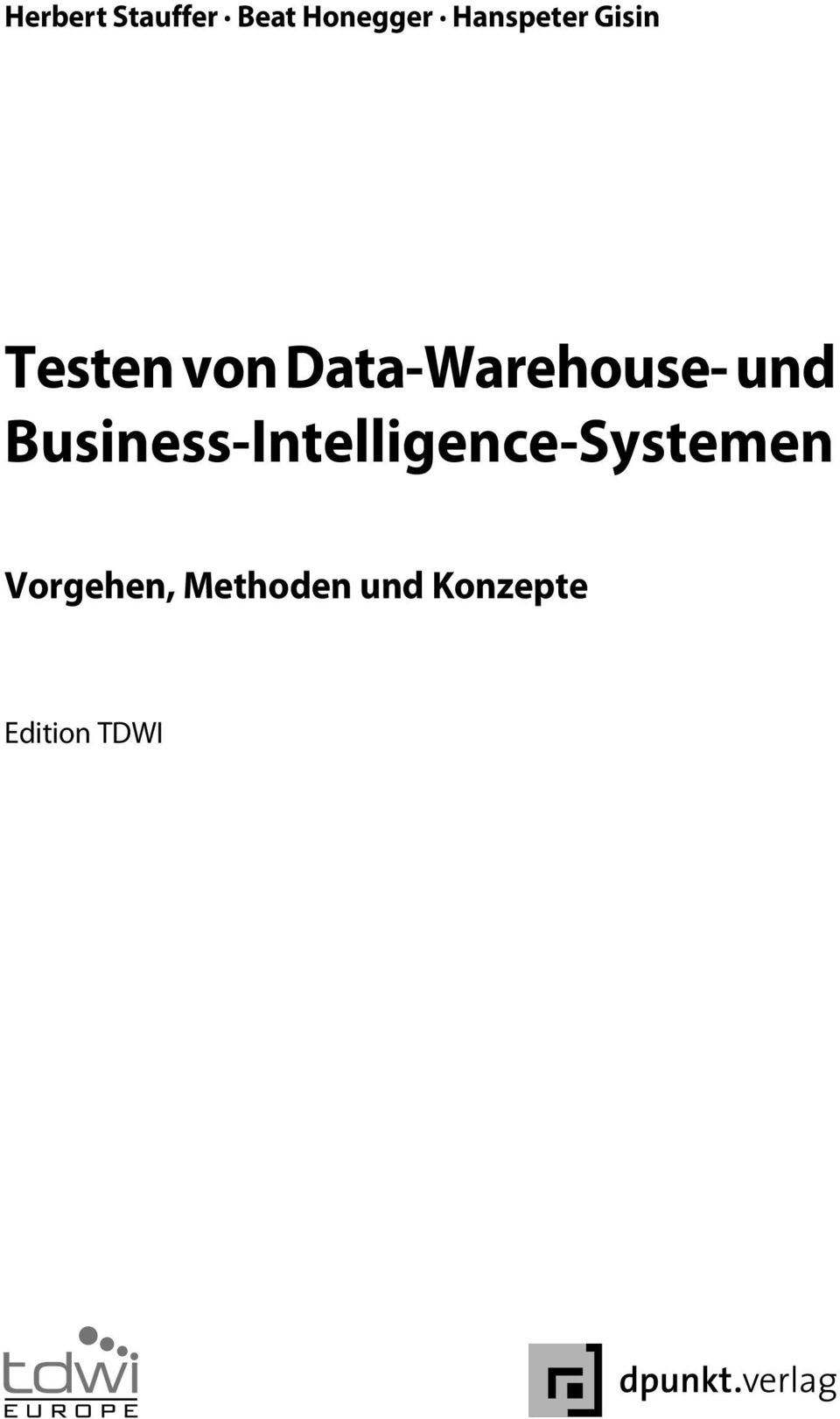 Data-Warehouse- und