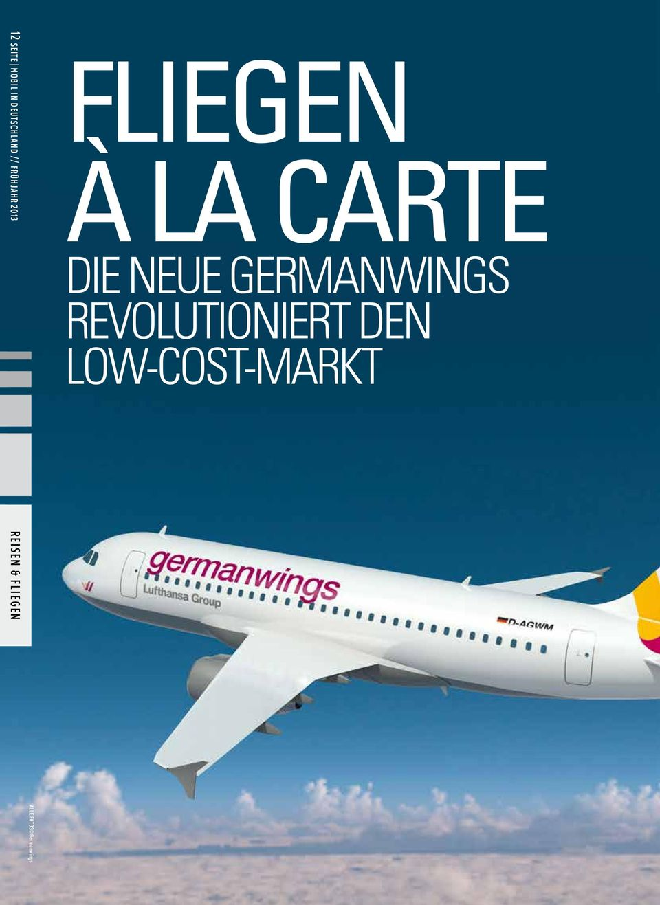 neue Germanwings revolutioniert den