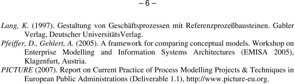 A framework for comparing conceptual models.