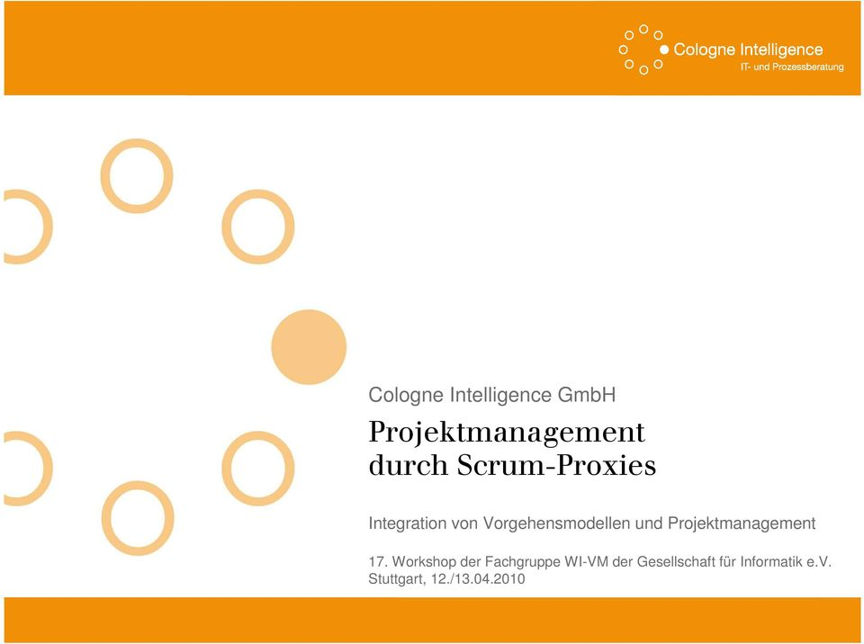Projektmanagement 17.