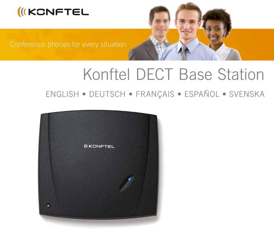 DECT Base Station ENGLISH