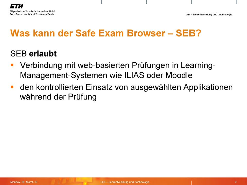 Learning- Management-Systemen wie ILIAS oder Moodle den