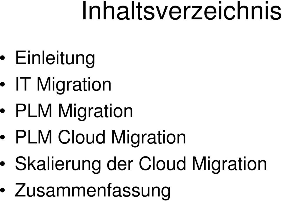 Cloud Migration Skalierung der