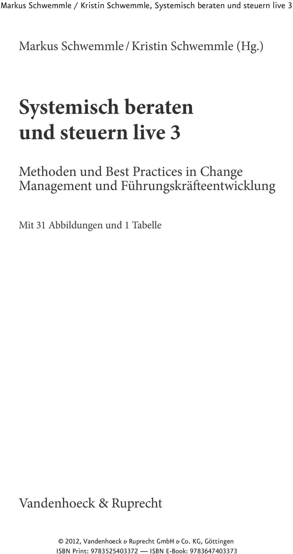 Best Practices in Change Management und