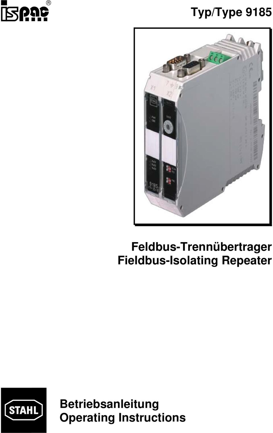 Fieldbus-Isolating