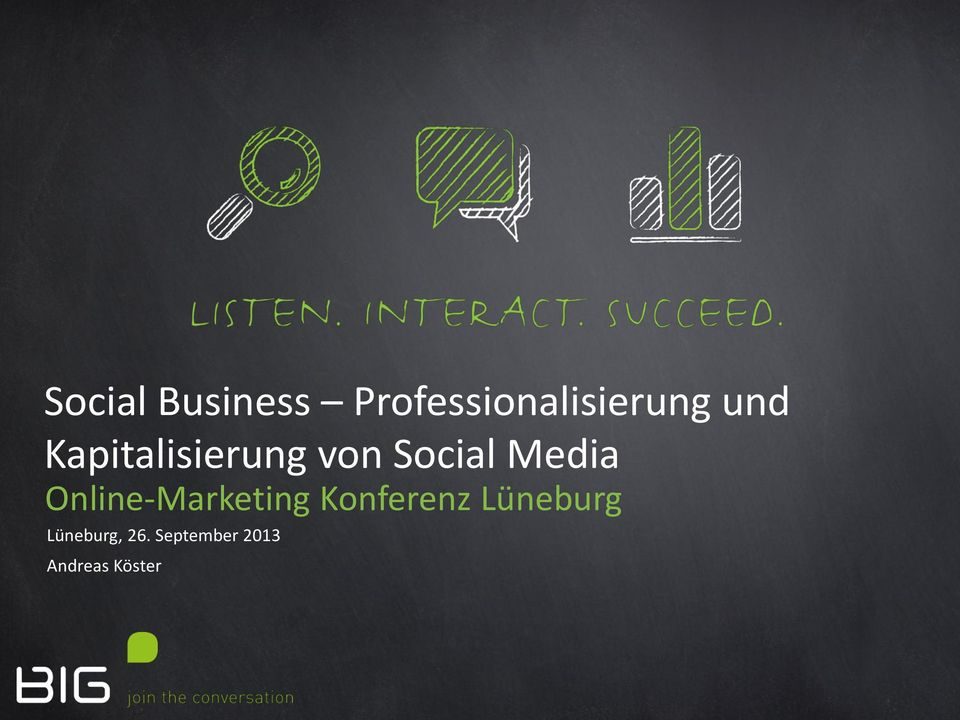 Online-Marketing Konferenz Lüneburg