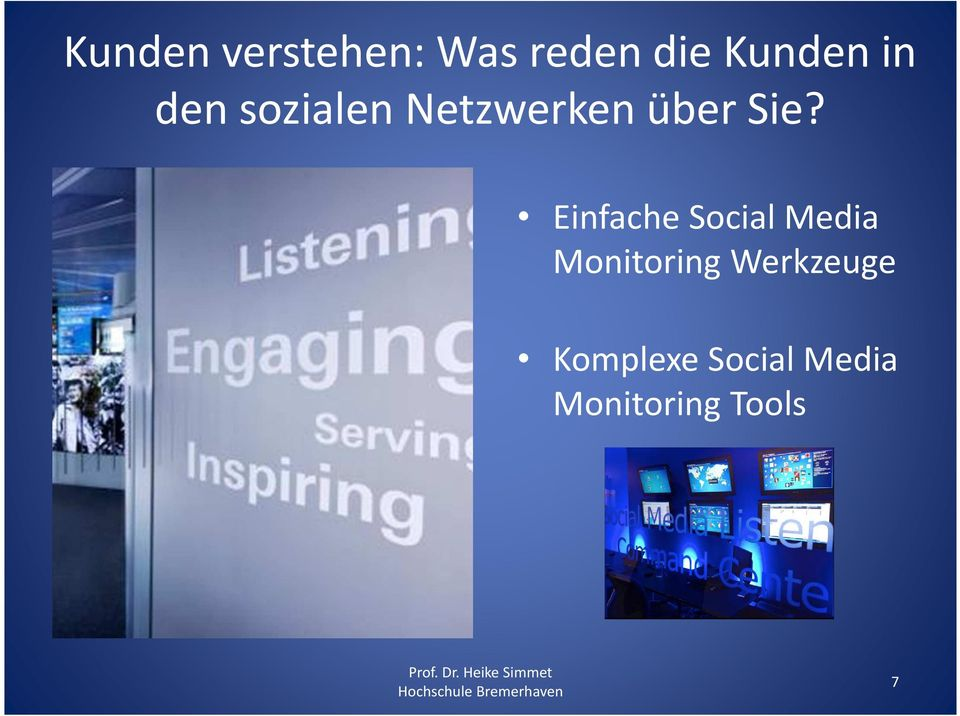 Einfache Social Media Monitoring