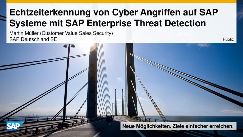 Müller (Customer Value Sales Security) SAP