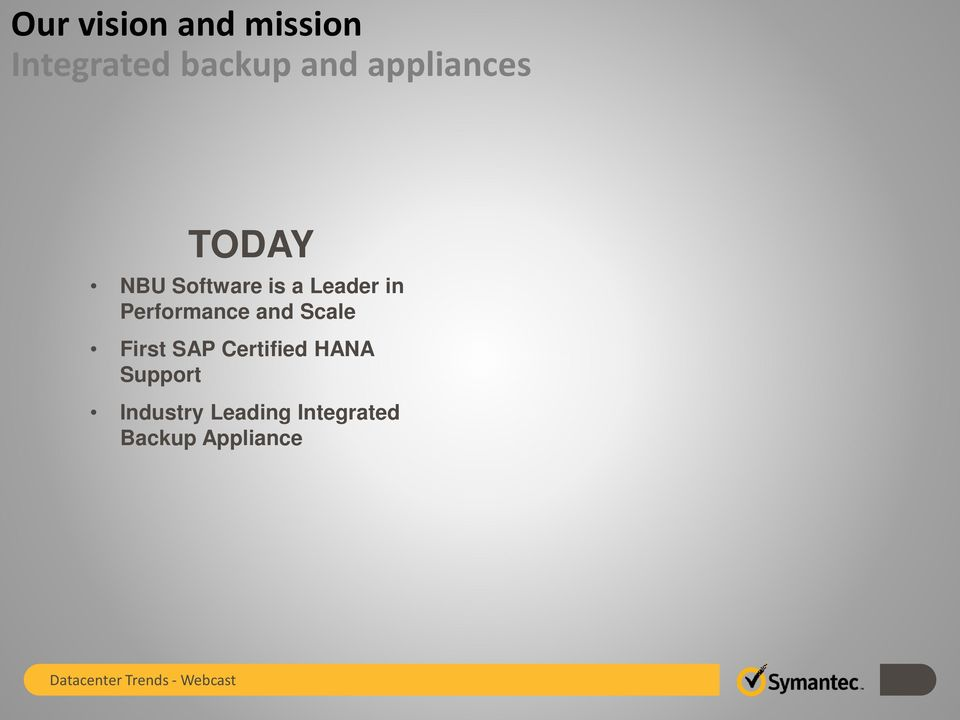 Performance and Scale First SAP Certified HANA
