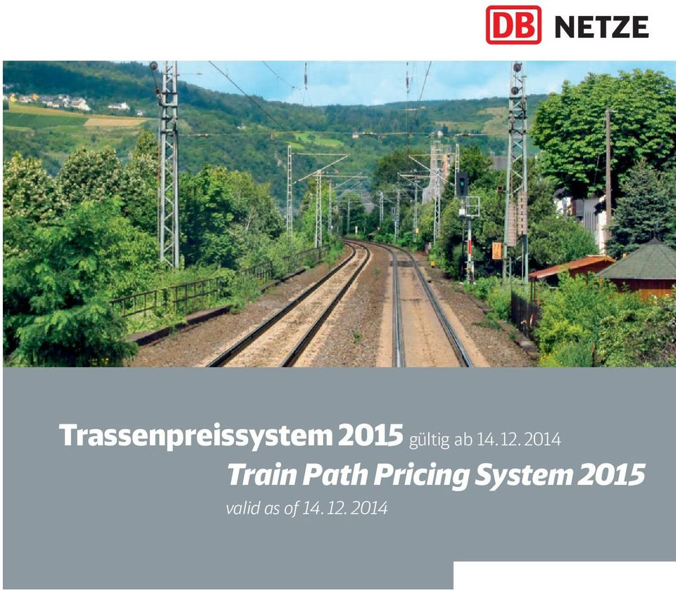 2014 Train Path Pricing