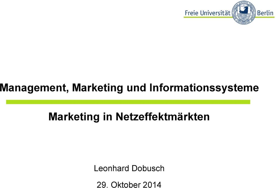 Marketing in