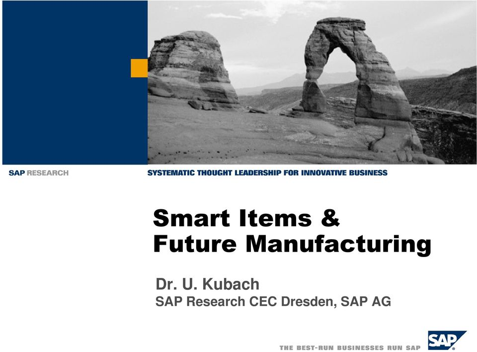 Kubach SAP Research