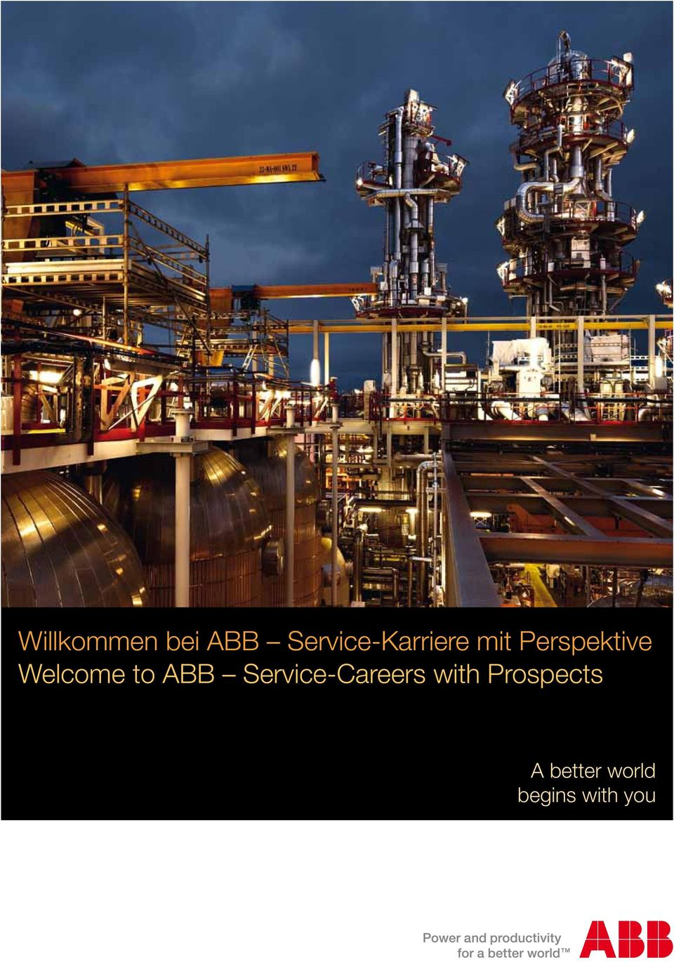 Perspektive Welcome to ABB