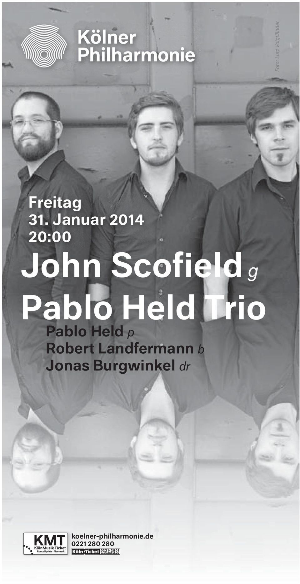 Trio Pablo Held p Robert Landfermann b