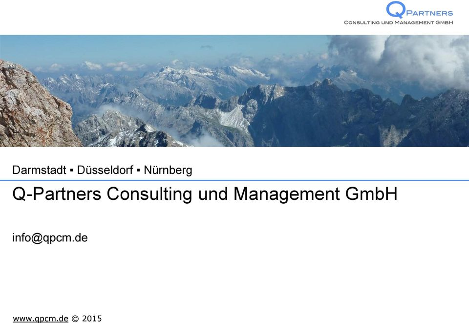 Consulting und Management