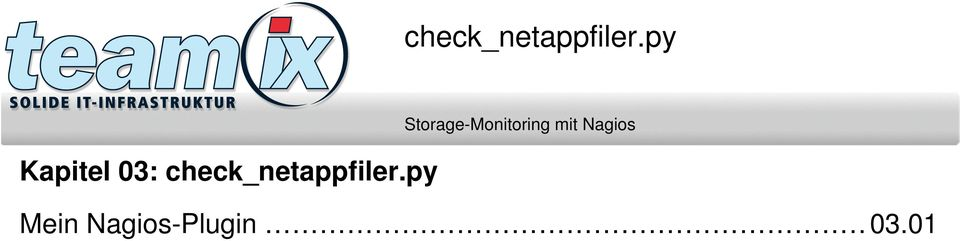 Storage-Monitoring mit