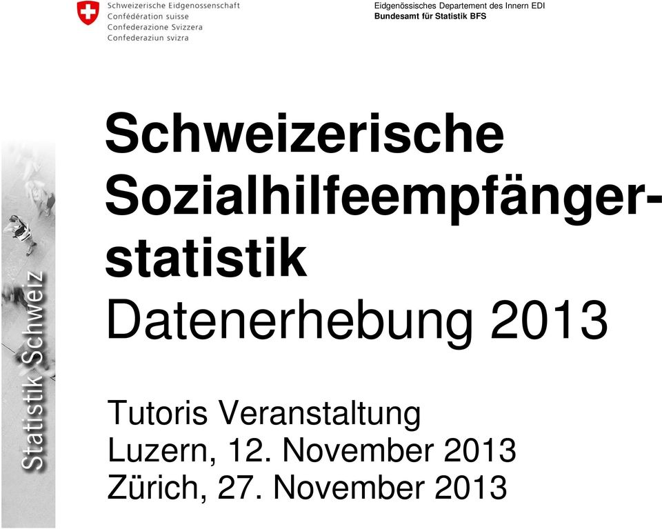 Datenerhebung 2013 Tutoris