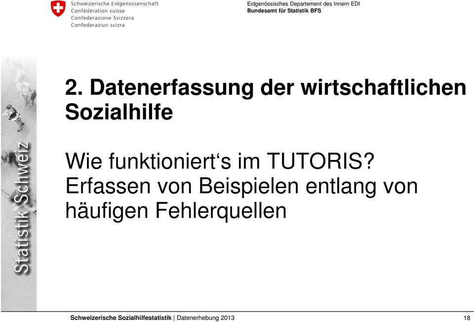 funktioniert s im TUTORIS?