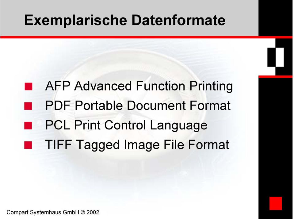 Portable Document Format PCL Print