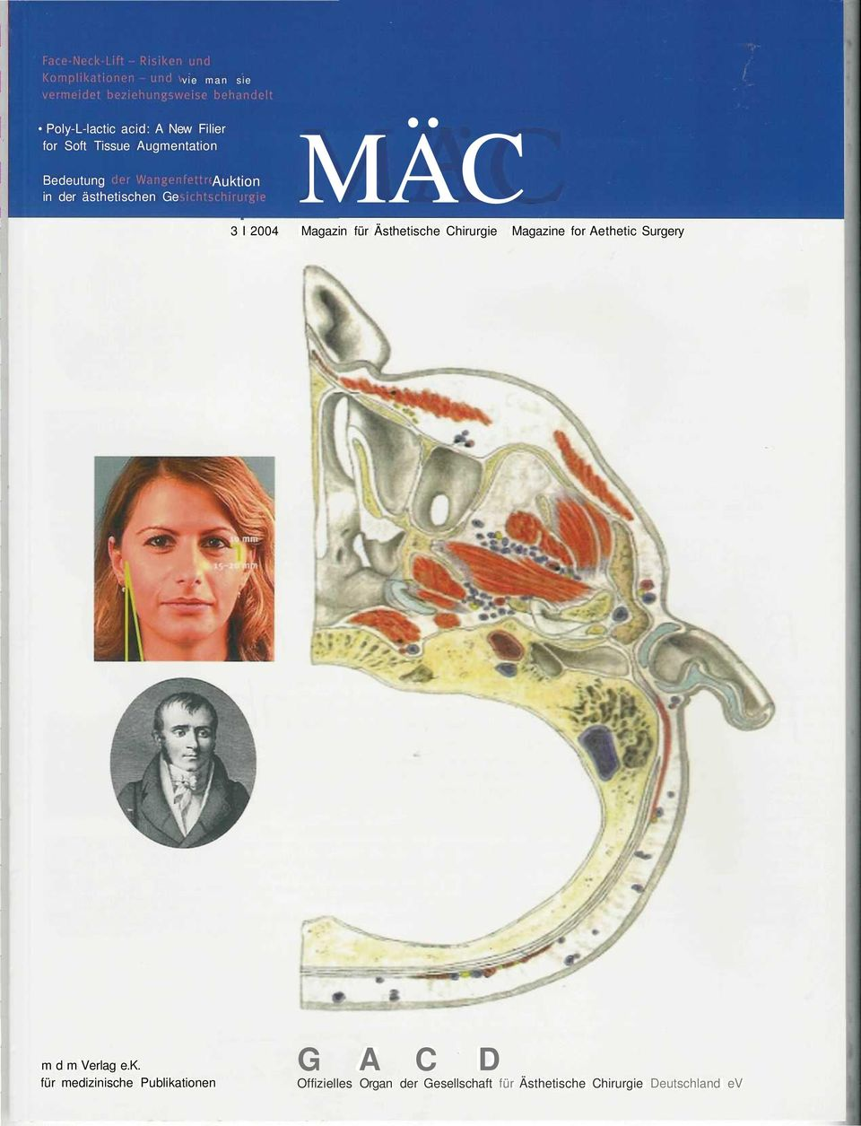 Chirurgie Magazine for Aethetic Surgery m d m Verlag e.k.