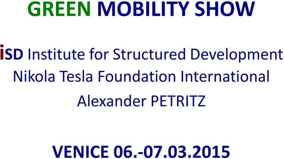 Tesla FoundationInternational
