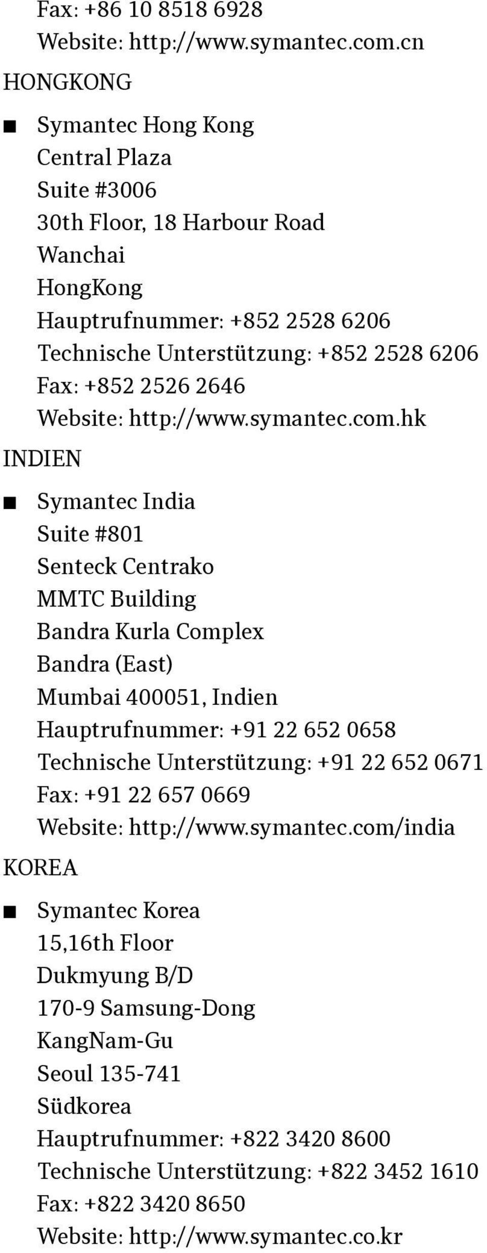2646 Website: http://www.symantec.com.