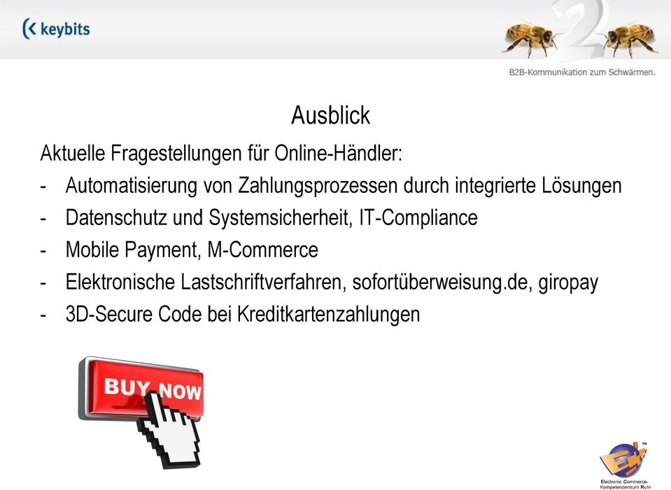 Systemsicherheit, IT-Compliance - Mobile Payment, M-Commerce - Elektronische