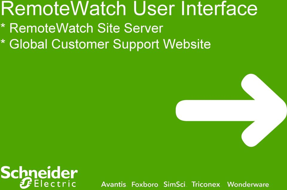 RemoteWatch Site