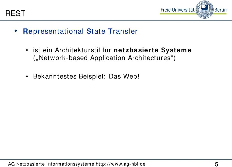 Systeme ( Network-based Application