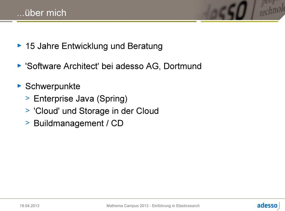 Schwerpunkte > Enterprise Java (Spring) >