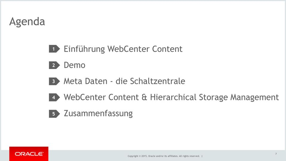 Hierarchical Storage Management Zusammenfassung