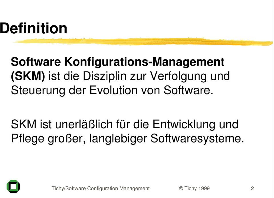 Evolution von Software.