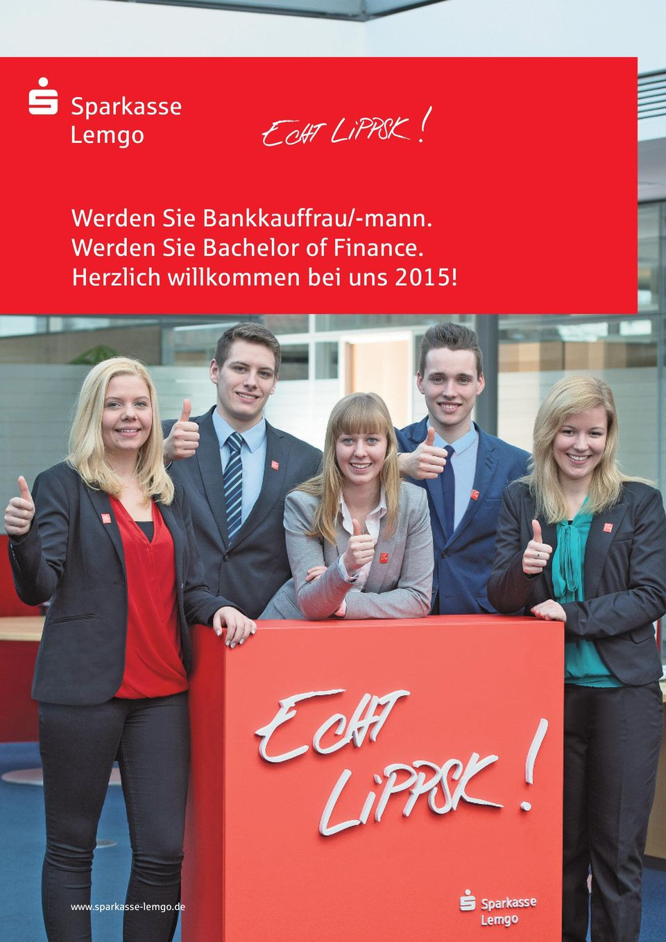 Werden Sie Bachelor of Finance.