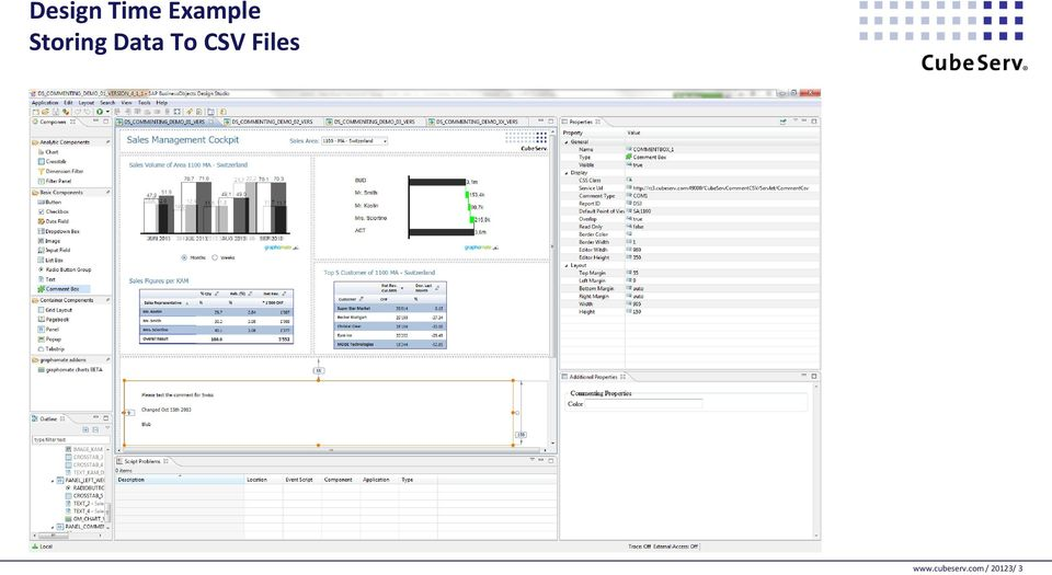 Data To CSV Files